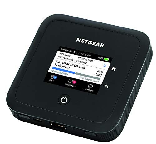 NETGEAR Routeur 5G WiFi 6 Nighthawk M5 (MR5200)– routeur mobile 5G WiFi ultra-rapide | Connectez jusqu'à 32...