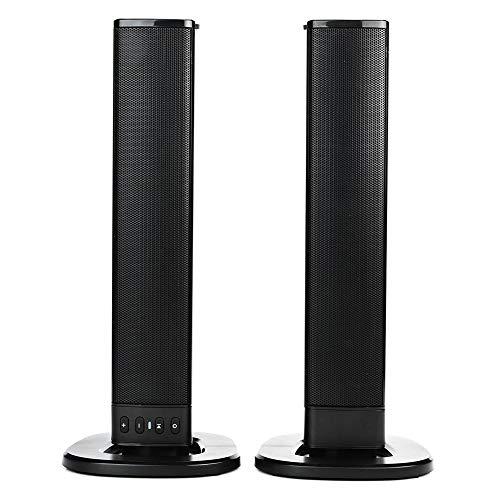 Barra de Sonido Inalámbrica Bluetooth Compatibilidad Amplia Opciones de Entrada Múltiple Barra de Sonido Conexiones por Cable Sala de Llenado TV Sonido Altavoz