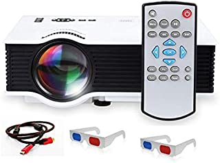 Unic LED HDMI 2 USB Portable Projector with 800 Lumens