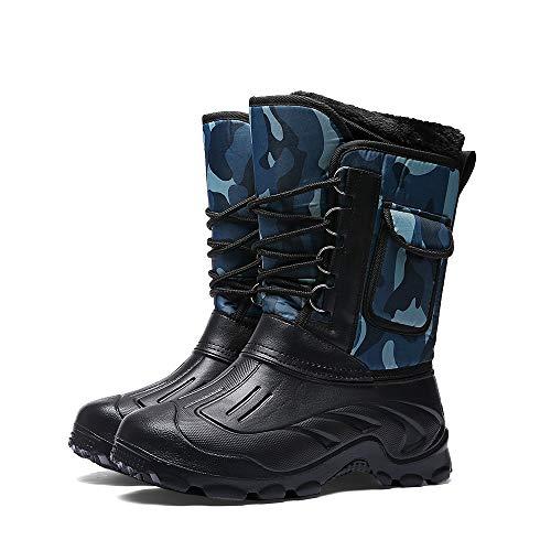 Parcclle Highland Weather Boots - Schneeschuhe, Kälteschutzstiefel mit Innenfutter-EU44