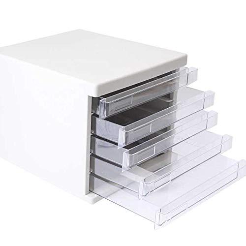 JenLn Office-bestanden Pedestal gemakkelijk te organiseren lade archiefkast bestand papieren documenten opslag organisator 5 lagen Office Podestbestanden