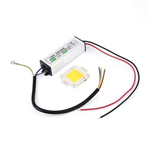 Gugutogo Bombillas Chip SMD LED 50W Fuente alimentación