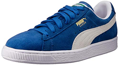 PUMA Suede Classic+, Zapatillas Bajas Hombre, Azul (Olympian Blue/White), 43 EU