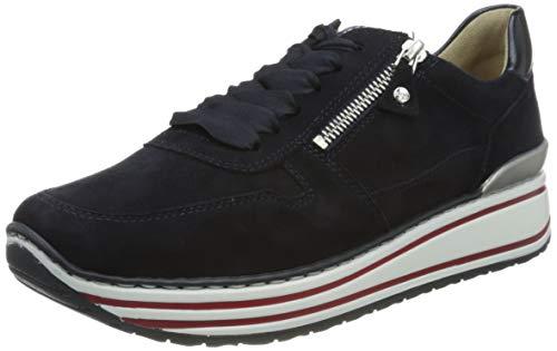 ara Damen SAPPORO Sneaker, Blau, Saphir 78), 42.5 EU(7.5 UK)