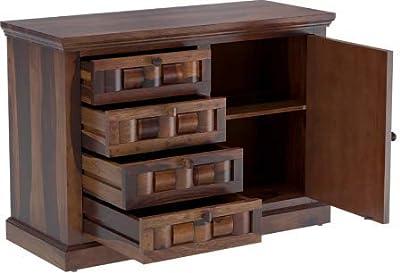 Shilpi Handmade Amazing Tails Look Decor Wooden Sideboard Multipurpose Storage Cabinet