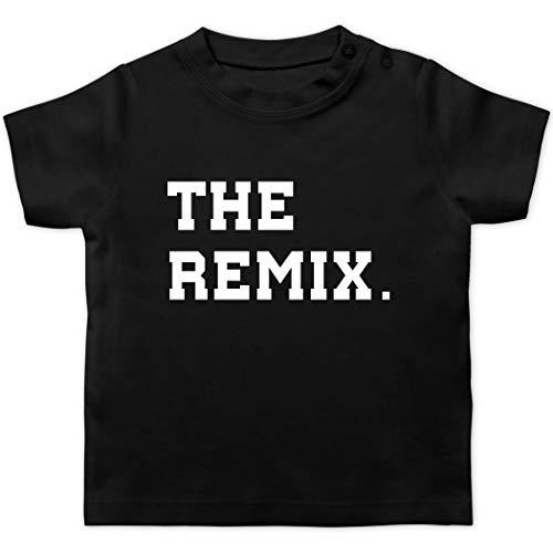 Partner-Look Familie Baby - The Original The Remix Kind - 12/18 Monate - Schwarz - T-Shirt - BZ02 - Baby T-Shirt Kurzarm