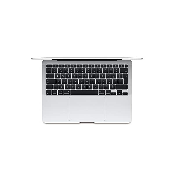 New Apple MacBook Air (13-inch, 1.1GHz dual-core 10th-generation Intel Core i3 processor, 8GB RAM, 256GB) - Silver 5