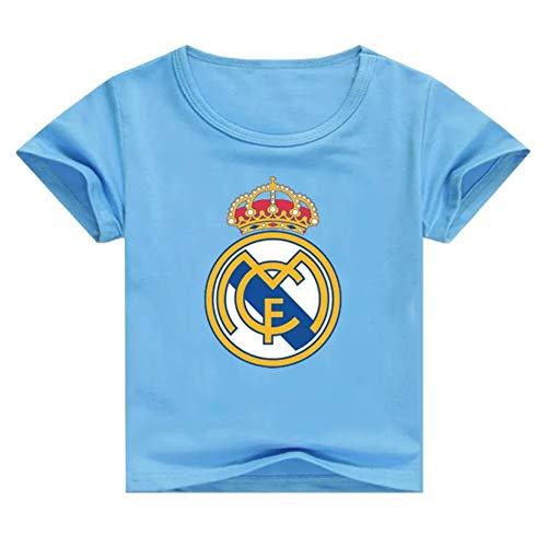 Playera Del Real Madrid Azul marca Mugoo