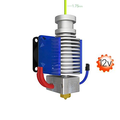 Genuine E3D V6 HotEnd Kit for 3D Printer (1.75mm) (12V, Direct)