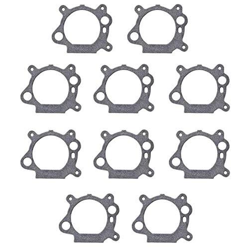 Banbo Paquete de 10 juntas de carburador 795629 para Briggs y Stratton 272653 272653S