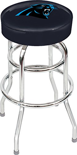 Imperial Officially Licensed NFL Furniture: Swivel Seat Bar Stool, Carolina Panthers
