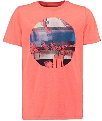 Garcia Kids Jungen P03600 T-Shirt, Rot (Lemonade 2405), 140 (Herstellergröße: 140/146)