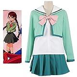 GGOODD Academia Juvenil Ropa Femenina Uniforme Escolar De Invierno Disfraz De Cosplay Anime Ropa Diaria,XXL