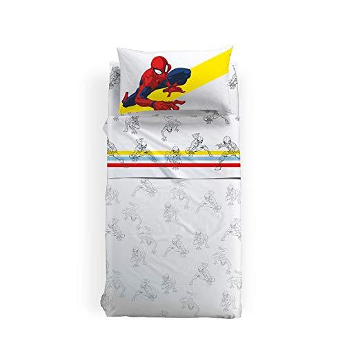 Juego de sábanas Spider-man 1,5 plazas