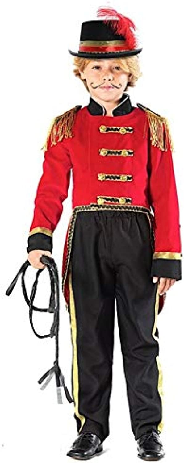 Italian Made Boys Ringmaster Showman Tailcoat Circus Film Fancy Dress Costume Outfit 310 years (5 years)
