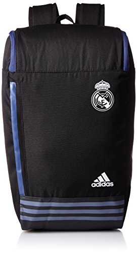 adidas Real Bp - Mochila, color negro / blanco, talla única