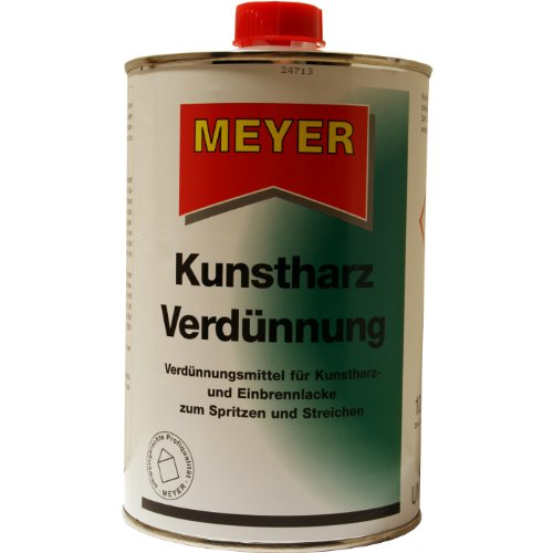 Kunstharzverdünnung, Verdünner, KH Verdünnung, Verdünnung, Alkydharz Verdünner, 1 Liter