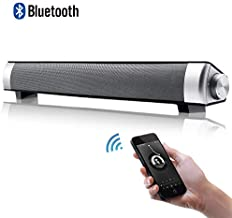 Bluetooth Sound Bar with Subwoofers Wired & Wireless Long-Standby for PC/Phone/Laptop/TV