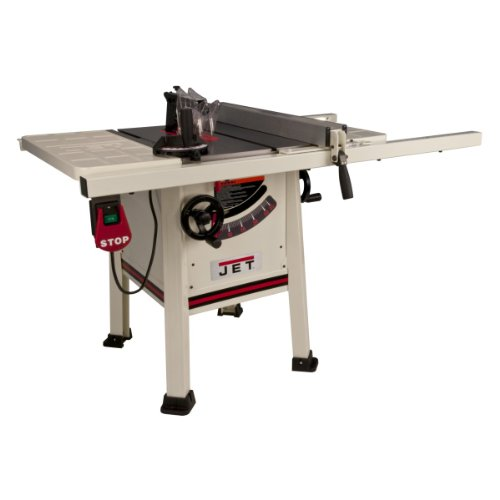Jet 708492K JPS-10TS, 10-inch Proshop Tablesaw with 30-inch Fence, Steel Wing and With Riving Knife