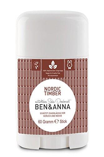 Ben & Anna Nordic Timber Deo Stick 60g