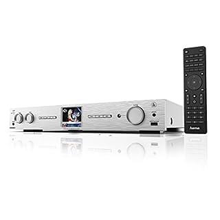 Radio digitale DAB, DAB+ e internet radio Display 2.8 pollici Contenuto confezione: DIT2010, telecomando,2 batterie, istruzioni, Spotify flyer Presa USB frontale