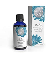 Dulàc - Olio Forte all'Arnica concentrata al 35% - Ideale per massaggi - 100% Naturale - 100% Made in Italy - Arnica 35