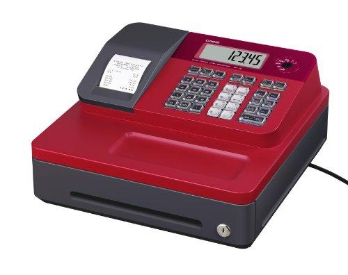 Casio SE-G1 SB-RD Caja registradora, rojo y negro