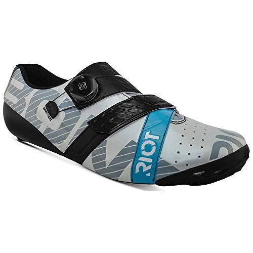 Bont Riot+, Zapatillas de Ciclismo de Carretera Unisex Adulto, Multicolor (B19 Pearl...