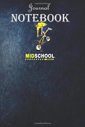 Notebook Journal:  Midschool Bmx Decade Shirt: Unique Appreciation Gift with Beautiful Design and a Premium Matte Softcover Gift Ideas for Your Son
