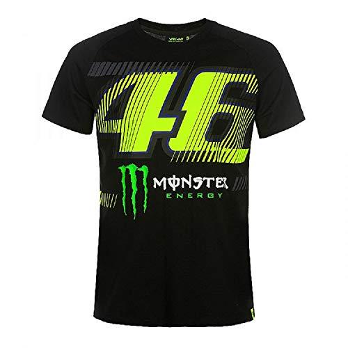 Vr46 Monza 46, Herren T-Shirt, Schwarz, XXXL