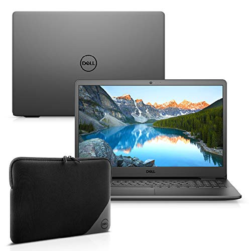 "Kit Notebook Dell Inspiron i3501-M25PC 15.6"" HD 10ª Ger. Intel Core i3 4GB 256GB SSD Windows 10 Preto + Capa Essential"