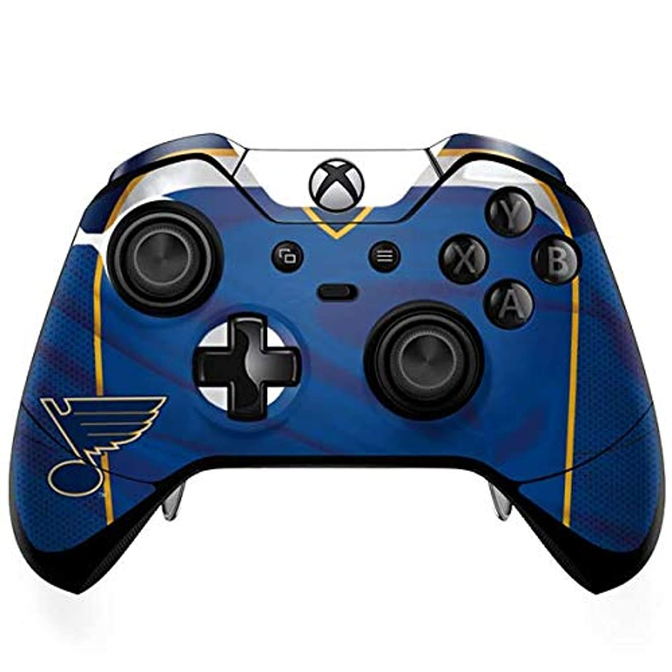Skinit St. Louis Blues Home Jersey Xbox One Elite Controller Skin - Officially Licensed NHL Gaming Decal - Ultra Thin, Lightweight Vinyl Decal Protection