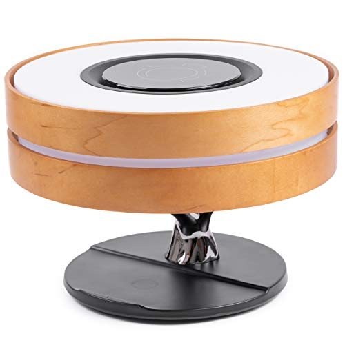 ArrowX Wireless Charging Lamp – Bluetooth Wireless Speaker Lamp – Ultra-Elegant Tree Lamp – Two Channel Stereo Sound with Dual Speakers – Brightness Control – Ideal for Hotel, Home Use