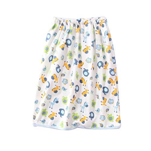 Mädchen Jungen Stoff Windel Rock Pull-Ups Training lehnende Hosen 100% Baumwolle, waschbare Urin-Unterlage, wasserdichte Unterwäsche für Kleinkinder, Töpfchen-Training, Wickeln, A2, L