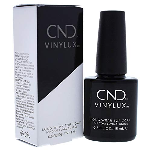 CND Vinylux Long Wear Top Coat, Laca de uñas, 15 ml