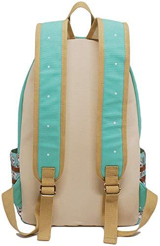 Roffatide Anime Fairy Tail Luminous Canvas Backpack Polka Dots School Bag