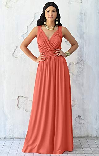 Coral evening gowns _image2