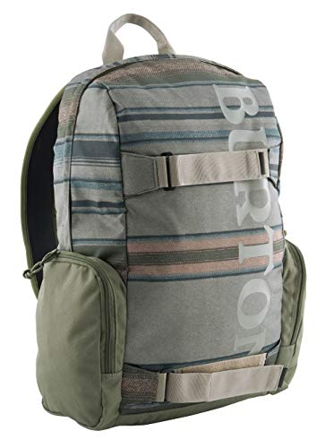 Burton Emphasis Pack Tusk Stripe Print, Zaino Unisex Adulto