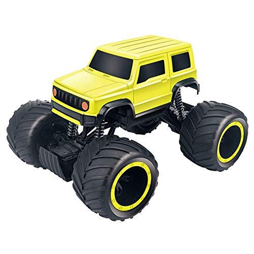 Weaston 1:24 Modelo de Coche de Control Remoto 2,4G Coche eléctrico RC Todo Terreno vehículo Todoterreno Bigfoot Monster Climbing RC Truck Juguete para niños Adultos Regalo