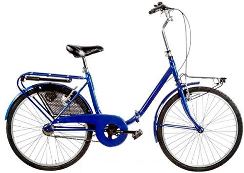 Cicli Puzone Bici 24' Pieghevole GRAZIELLA Art. GRZ24 (Blu)