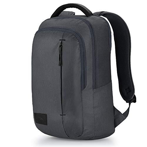 High Sierra Business Slim Pack Laptop Backpack, Mercury Heather/Black, One Size