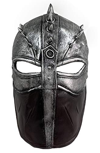 Hiccup Flight Latex Mask How to Train Your Dragon Moive Cosplay Costume Silver