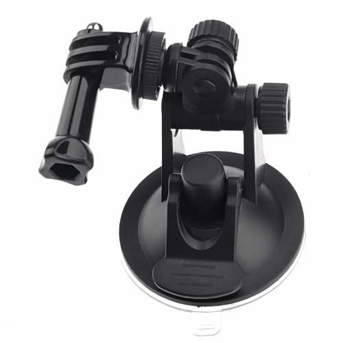 douself Mini auto Holder Base tazza di aspirazione treppiedi Mount adattatore per GoPro HD HERO 2/3/3 + ST-51