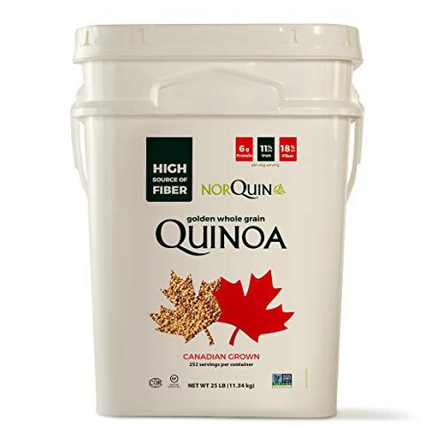 NorQuin Golden Quinoa Big Bulk Bucket