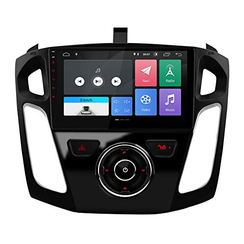 2 Din 9'' Android 10.0 RAM 2G Car Radio Stereo Player GPS Navigation Bluetooth FM WiFi USB NO DVD Fit for Ford Focus 2012 2013 2014 2015 2016 2017