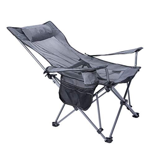 Draagbare campingstoel Beste gewatteerde klapstoel Opvouwbare gevoerde harde arm stoel Hoge rug gazon stoel, draagbare lounge stoel met bekerhouder voor kamp, vissen, wandelen, buiten Lichtgewicht b
