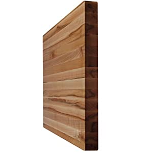 "Kobi Blocks Maple Edge Grain Butcher Block Wood Cutting Board 20""X30""X1"""