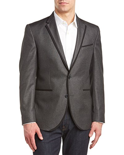 Kenneth Cole Reaction Mens Evening Jacket, 42R, Grey