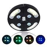 Luces para sombrilla de patio, 3 modos de brillo, funciona con 4 pilas AA, luz para sombrilla de patio, tiendas de campaña o uso en interiores