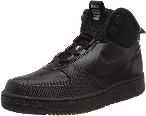Nike Path Winter, Zapatillas de Correr Hombre, Negro (Black/Black-Metallic Pewter), 44 EU